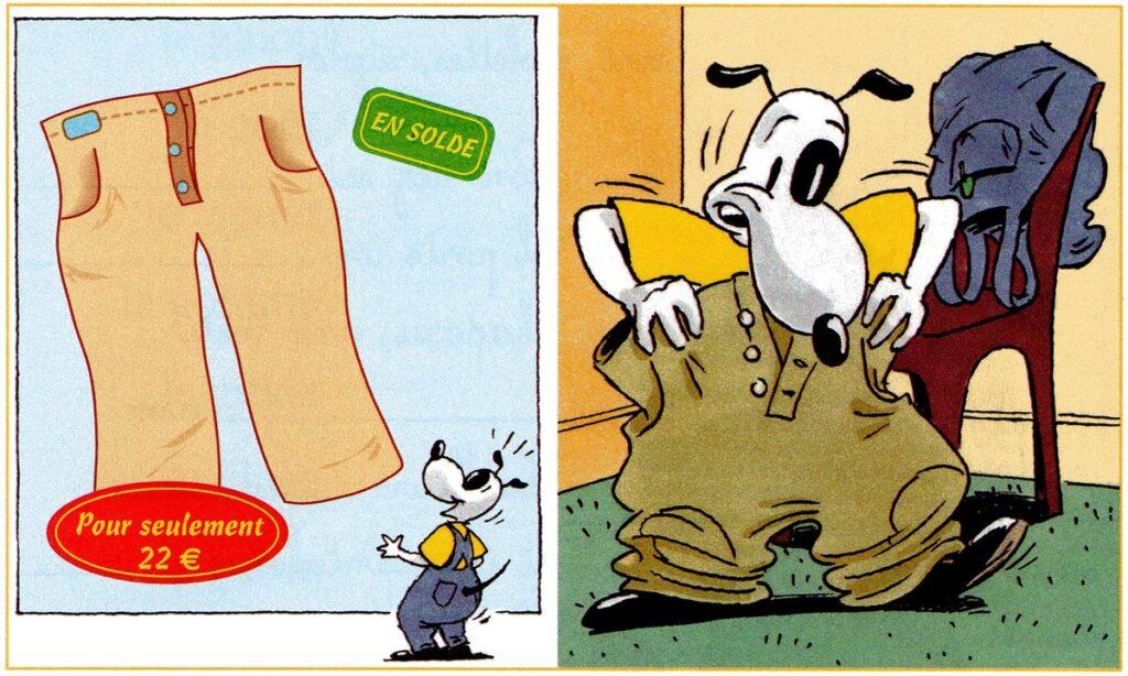 Le pantalon de Max
