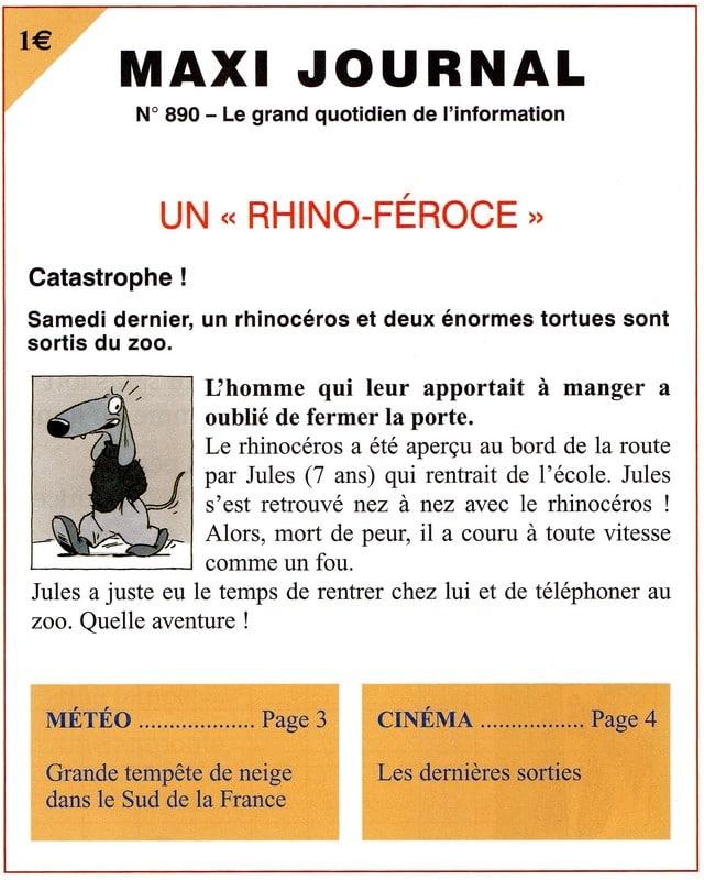 Un rhino-féroce
